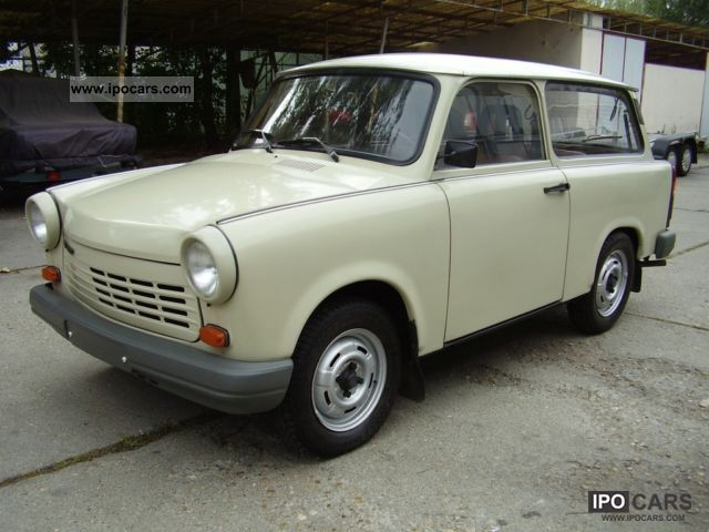 1990 trabant 1 1 combination with 56000 km car photo and specs. Black Bedroom Furniture Sets. Home Design Ideas