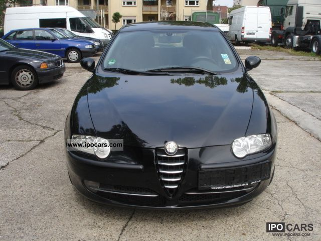 2001 alfa romeo 1 6 twin spark car photo and specs. Black Bedroom Furniture Sets. Home Design Ideas