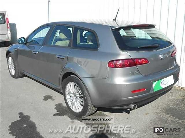2009 alfa romeo 159 sw 1 9 jtdm 150 selective car photo and specs. Black Bedroom Furniture Sets. Home Design Ideas