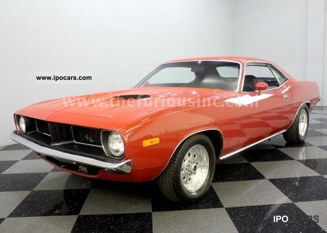 Plymouth  Cuda \ 1973 Vintage, Classic and Old Cars photo