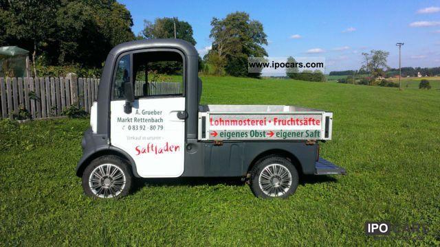 2003 Aixam  Mega Pick Van / Minibus Used vehicle photo