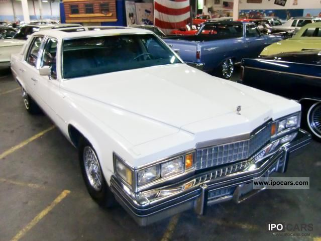 Cadillac  Fleetwood Brougham 1978 Vintage, Classic and Old Cars photo