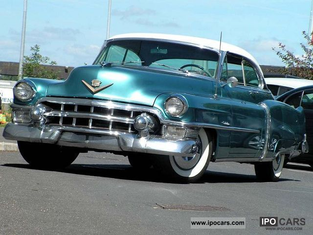 Cadillac  53 COUPE DEVILLE 1953 Vintage, Classic and Old Cars photo