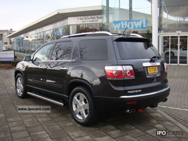 2007 gmc acadia v6 awd slt 2 275pk skyscape roof bl. Black Bedroom Furniture Sets. Home Design Ideas