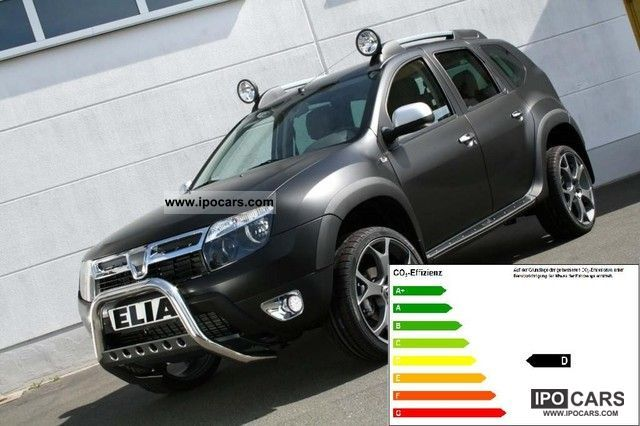 2012 Dacia  Duster Dark Rochester with ELIA Tuning + leather dCi 110 4x Other Demonstration Vehicle photo