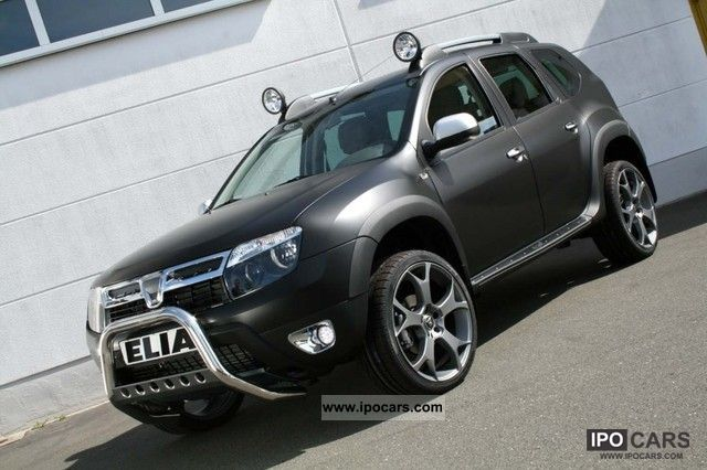 2012 dacia duster dark rochester with elia tuning leather dci 110 4x car photo and specs. Black Bedroom Furniture Sets. Home Design Ideas