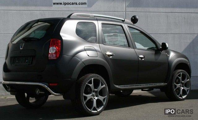 2012 Dacia Duster Dark Rochester With Elia Tuning