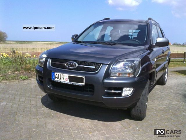 Kia  Sportage 2.0 LX AUTO LPG GAS 2007 Liquefied Petroleum Gas Cars (LPG, GPL, propane) photo