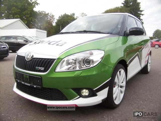 skoda fabia ii combi facelift 2010 rs 1 4 tsi 180 hp. Black Bedroom Furniture Sets. Home Design Ideas