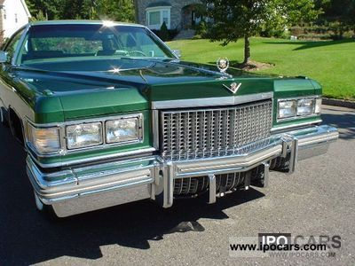 Cadillac  Deville 1975 Vintage, Classic and Old Cars photo