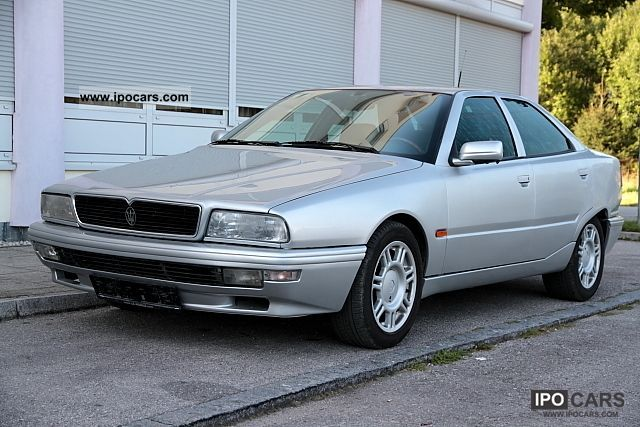 1996 Maserati  Quattroporte-4, V6 2.0 Biturbo Limousine Used vehicle photo