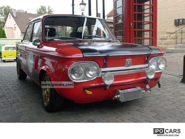 NSU  TT 1000 restored kompett 1971 Vintage, Classic and Old Cars photo