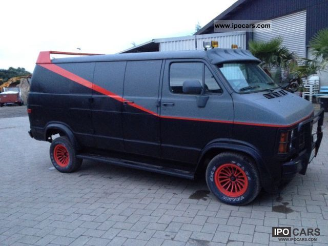 1983 GMC Vandura / Dodge Ram150 / A-Team - Car Photo and Specs