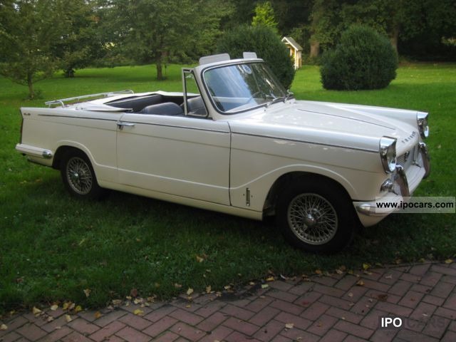 Triumph  Herald Sports 1965 Vintage, Classic and Old Cars photo