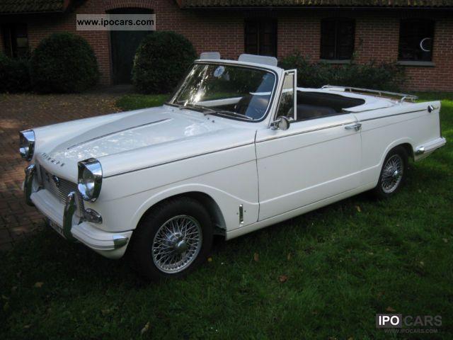 1965 Triumph Herald Sports Car Photo And Specs