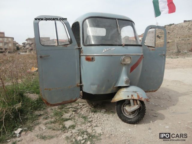 Piaggio  APE 1960 Vintage, Classic and Old Cars photo
