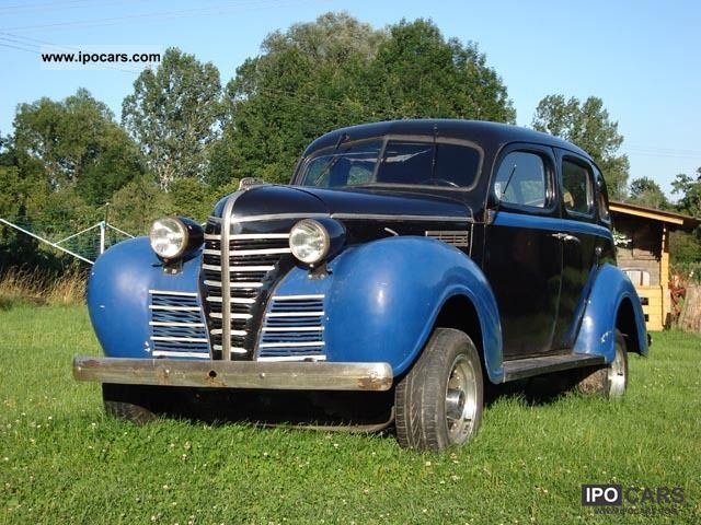 Plymouth  Road King 4-Door Sedan 1938 Vintage, Classic and Old Cars photo