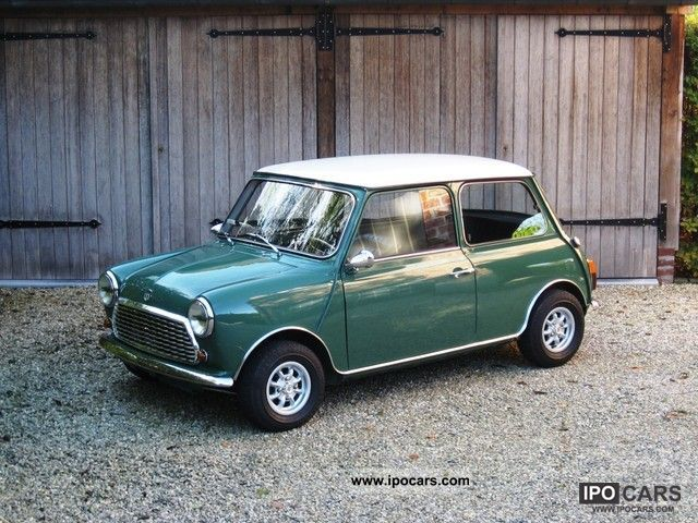 Austin  Authi Mini Cooper 1300 1973 Vintage, Classic and Old Cars photo