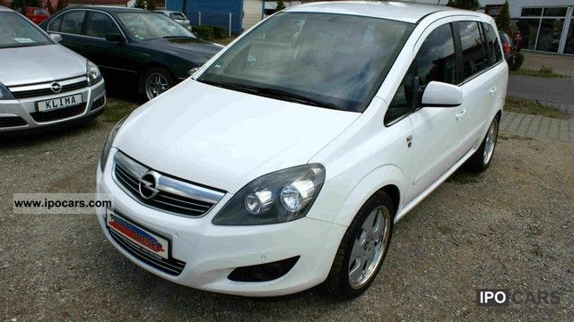 2010 opel zafira 1 7 cdti edition 111 years car photo and specs. Black Bedroom Furniture Sets. Home Design Ideas