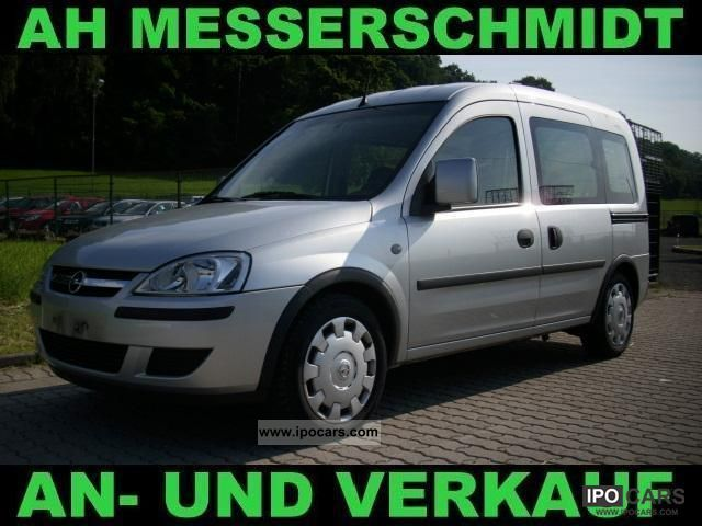 Opel  Combo 1.6 CNG Edition 1.Hd + air + + AHZV EU4 2007 Compressed Natural Gas Cars (CNG, methane, CH4) photo