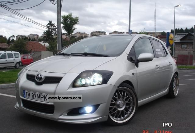 2007 toyota auris km 146cp price car photo and specs. Black Bedroom Furniture Sets. Home Design Ideas