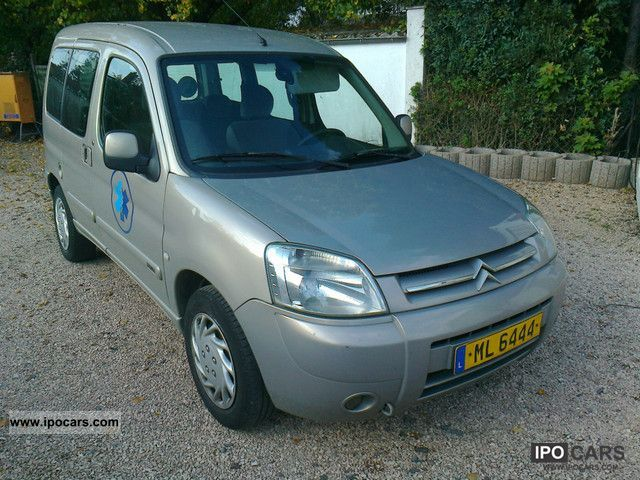 2005 Citroen  Berlingo 2.0 HDI * AIR * DISABLED PASSENGER Van / Minibus Used vehicle photo