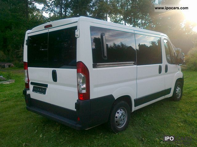 2007 fiat ducato l1h1 combinato 2 3 mjet klimatronic car photo and specs. Black Bedroom Furniture Sets. Home Design Ideas