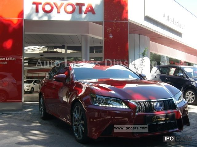 Lexus  GS 450h F Sport, 2012, ACC, PCS, LKA, TWA, Head-Up-D. 2012 Hybrid Cars photo