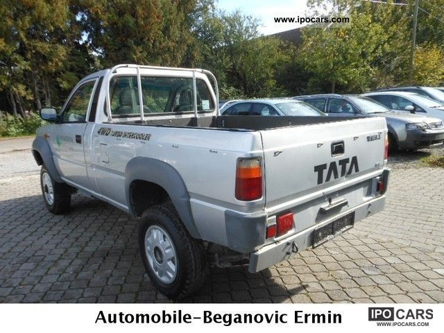 2008 tata pick up 4x4 140hp euro 4 car photo and specs. Black Bedroom Furniture Sets. Home Design Ideas