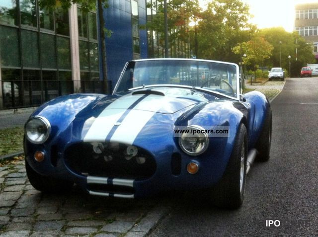 1966 Cobra  Replica 427 V8 H-Marking of. Cabrio / roadster Classic Vehicle photo