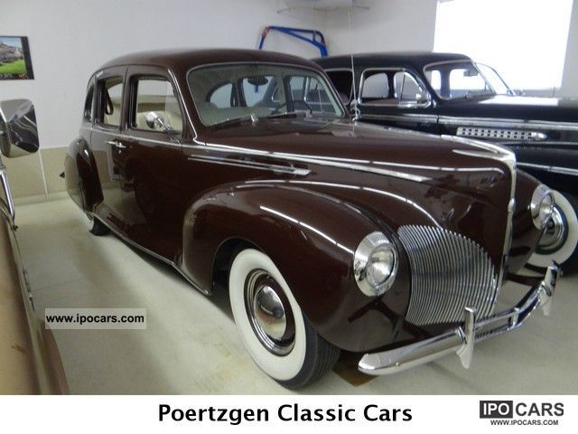 Lincoln  Zephyr 12 cylinders Oldtimer 1936 Vintage, Classic and Old Cars photo