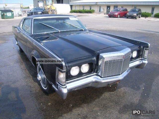 Lincoln  CONTINENTAL 1969 Vintage, Classic and Old Cars photo