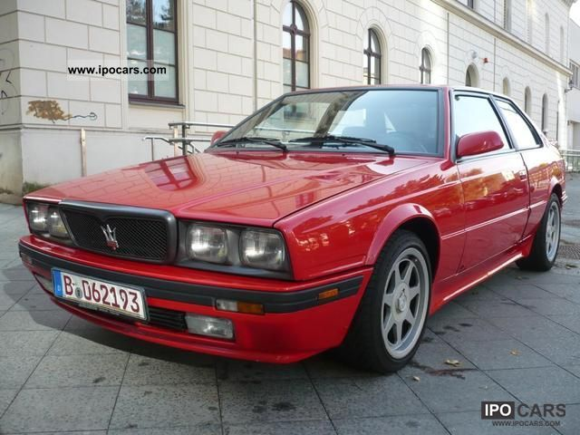 1989 maserati biturbo 69,000 km 1.hand new asu new - car photo and specs