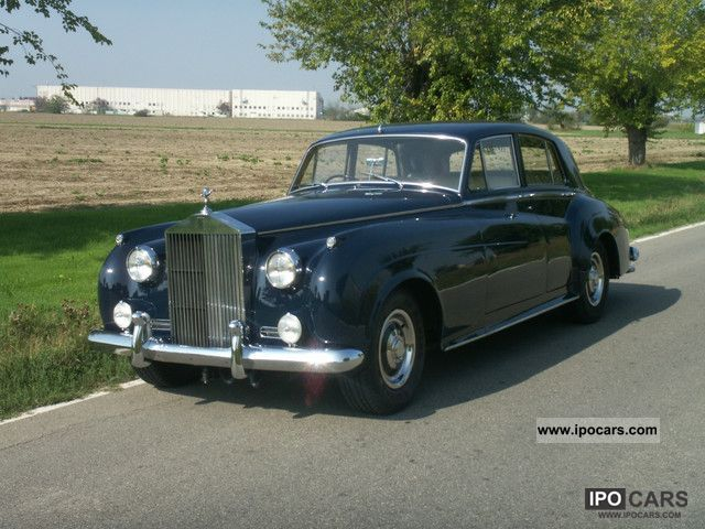 Rolls Royce  II 1960 Vintage, Classic and Old Cars photo