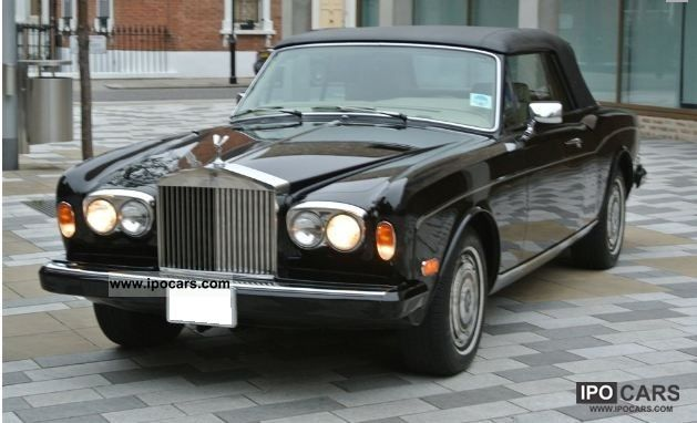 1982 Rolls Royce  Corniche II Cabrio / roadster Used vehicle photo