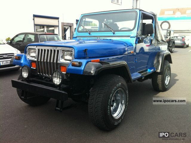 1991 jeep wrangler yj laredo 4 0 air car photo and specs. Black Bedroom Furniture Sets. Home Design Ideas