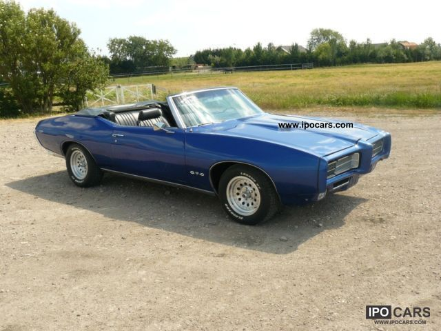 1969 Pontiac Gto Convertible Car Photo And Specs