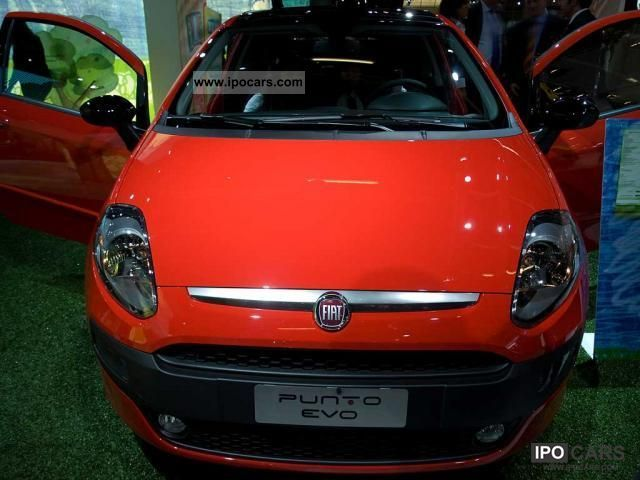 2012 Fiat  Punto to 32% discount from German Vertragsh ... Limousine New vehicle photo