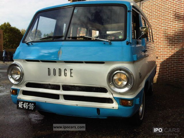 Dodge  A100 original camper V8 LPG 1966 Vintage, Classic and Old Cars photo
