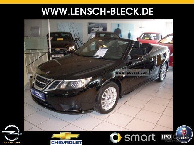 2012 Saab  9-3 Convertible 1.8t Vector Auto * Leather * PDC * AHK * Cabrio / roadster Used vehicle photo