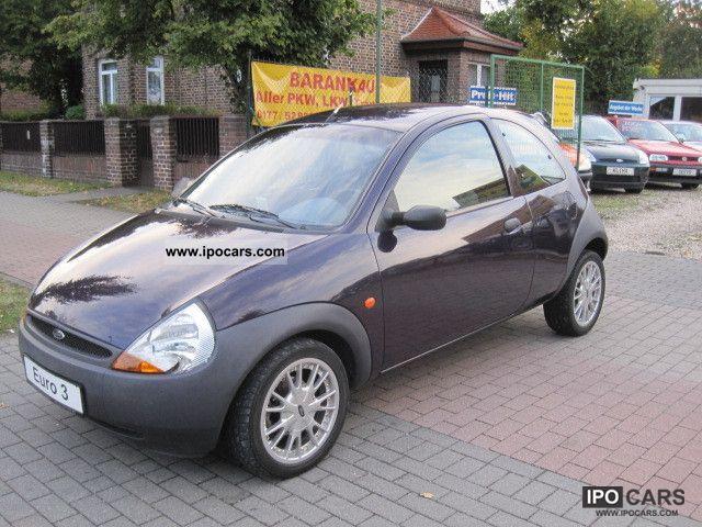1997 Ford  Ka, servo airbag SR + WR aluminum Tüv Gr.Pl. new Small Car Used vehicle photo