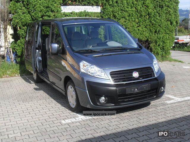 2011 Fiat  Scudo L2 9-seater DPF Panorama Family Estate Car Used vehicle photo