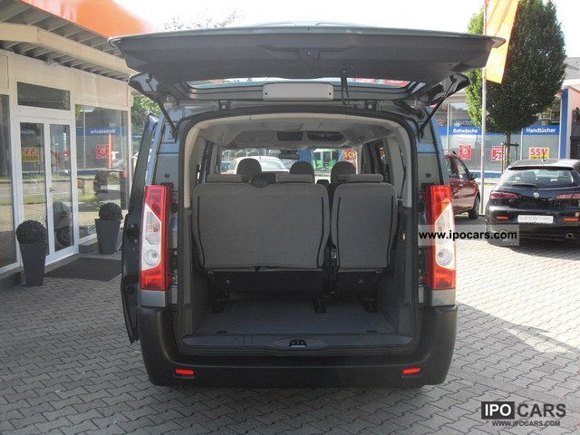 2011 fiat scudo l2 9 seater dpf panorama family car. Black Bedroom Furniture Sets. Home Design Ideas