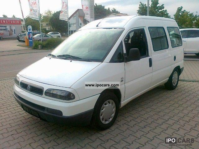 2004 Fiat  Scudo 2 Manual Euro 3 servo towbar airbag 9 seats ... Van / Minibus Used vehicle photo