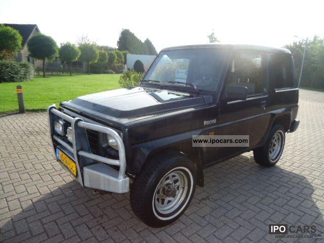 1992 Daihatsu  Rocky Off-road Vehicle/Pickup Truck Used vehicle photo