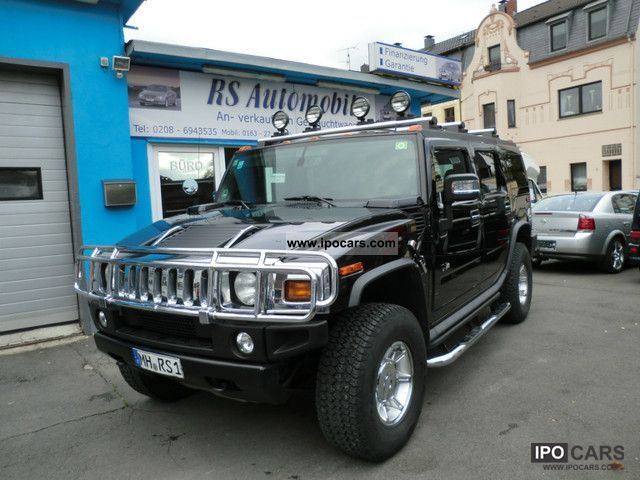 Hummer  H2 Luxury Appearance Package ** Full ** Features ** 2007 Liquefied Petroleum Gas Cars (LPG, GPL, propane) photo