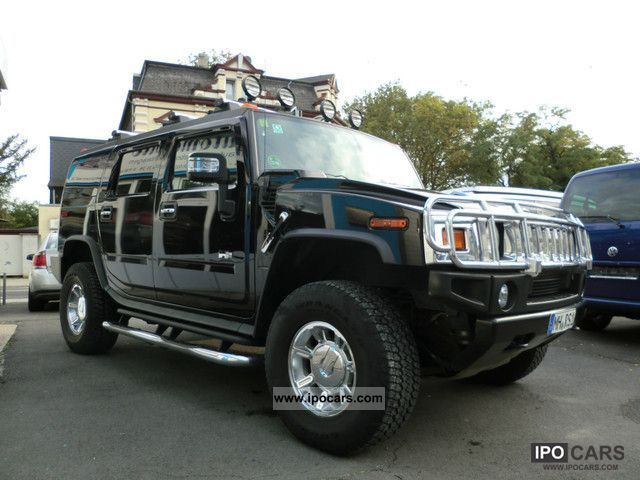 2007 hummer h2 luxury appearance package full. Black Bedroom Furniture Sets. Home Design Ideas