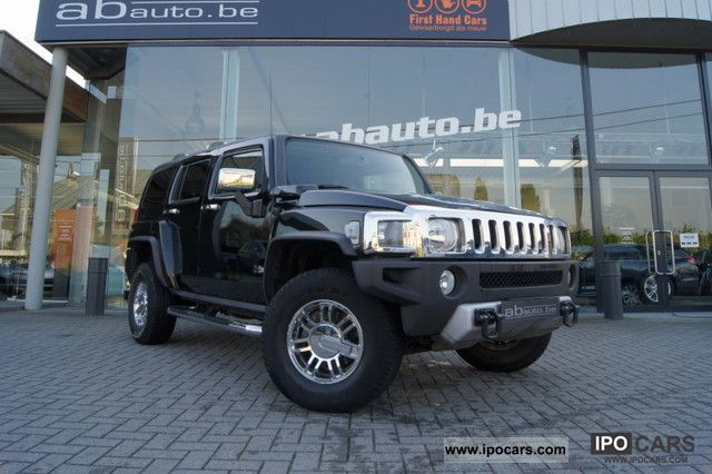 2008 Hummer  H3 3.6 Executive, cuir, privacy clima, comme ne Off-road Vehicle/Pickup Truck Used vehicle photo
