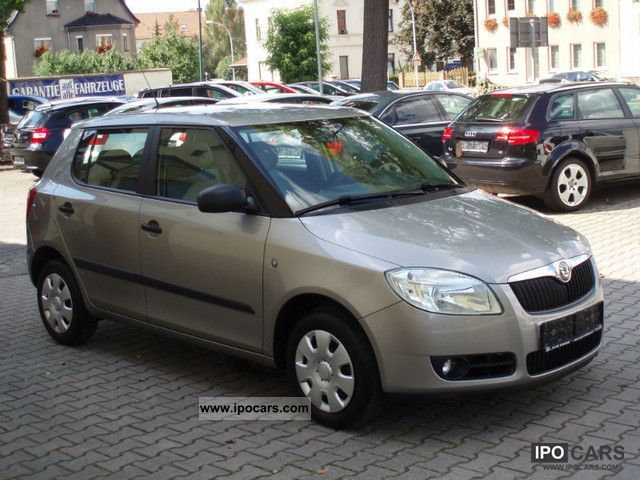 2008 Skoda  Fabia 1.2, pensioners owned org. 12.500km! Small Car Used vehicle photo