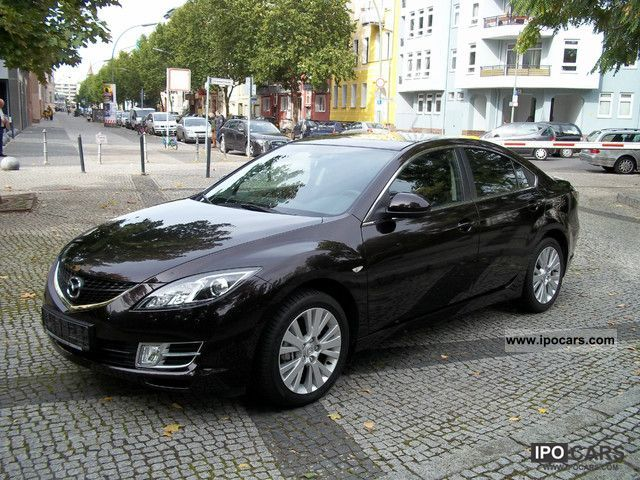 2010 Mazda 6 1.8 MZR NAVI + DVD PDC Limousine Used vehicle photo 4